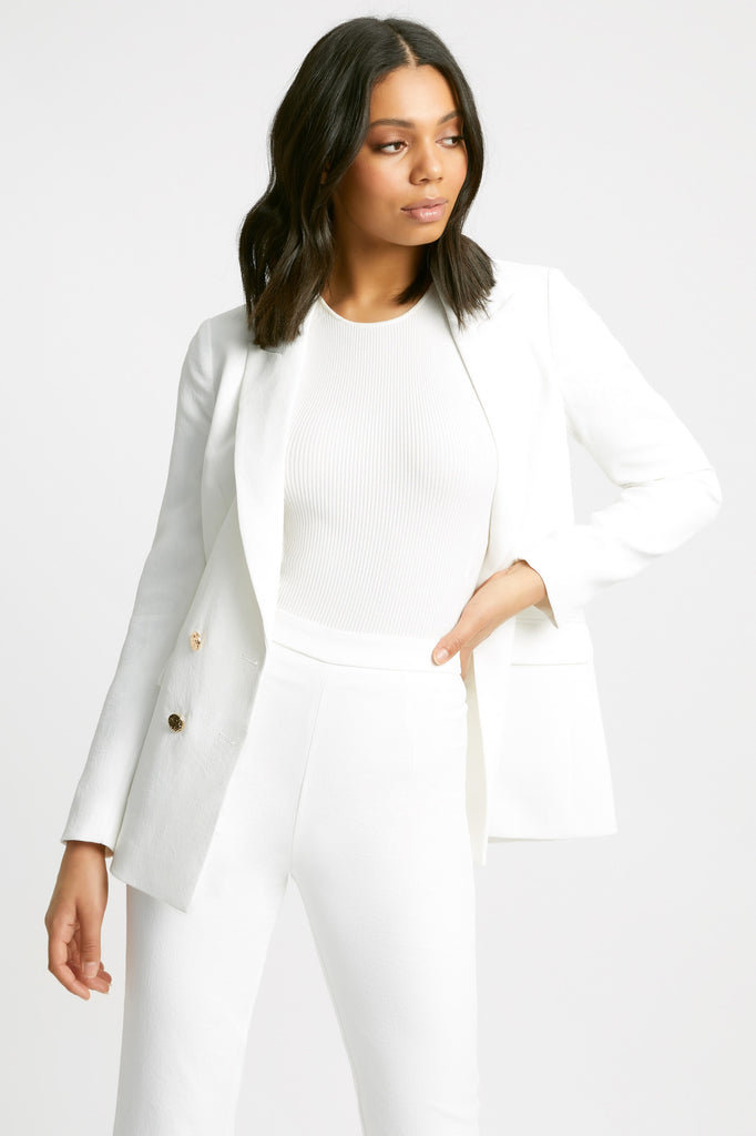 Oyster Button Blazer