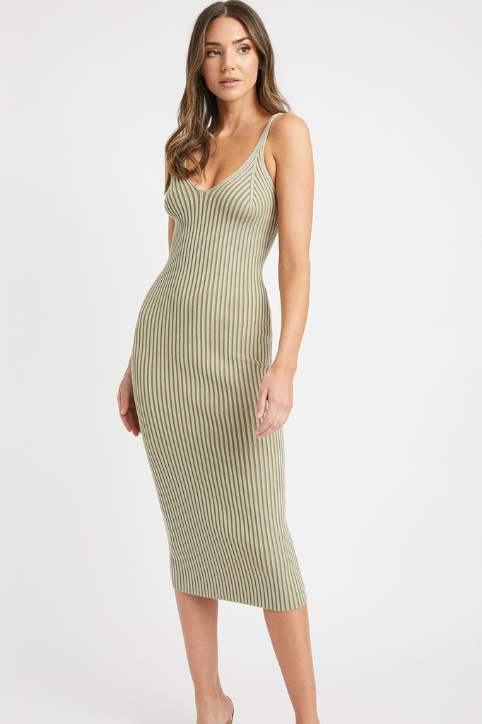 Sadie Shaped Midi Dress