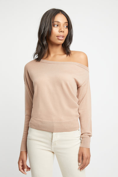 Merino One Shoulder Jumper