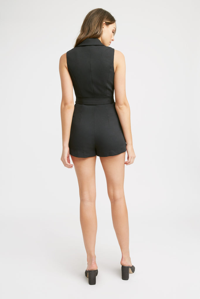 Wafer Sleeveless Playsuit