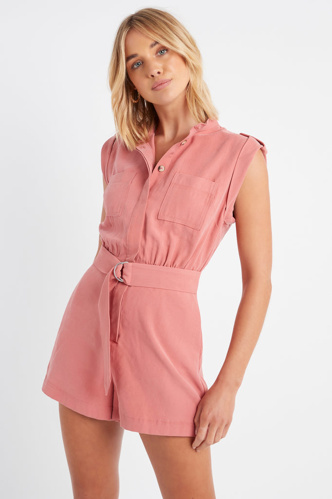 Montmartre Belted Playsuit