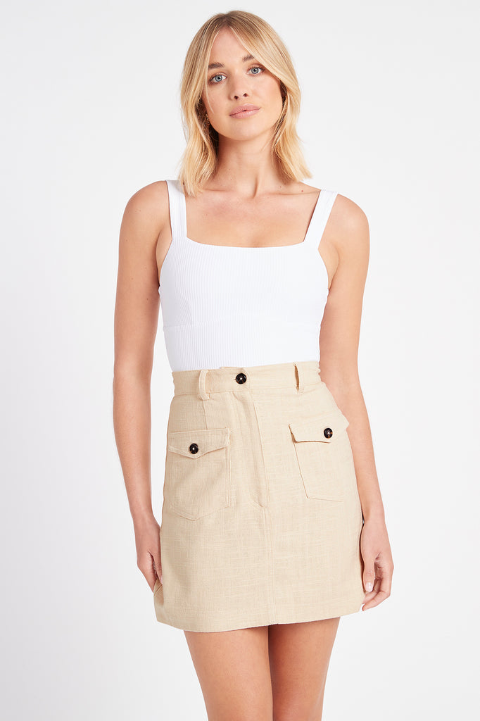 Kiki Pocket Skirt