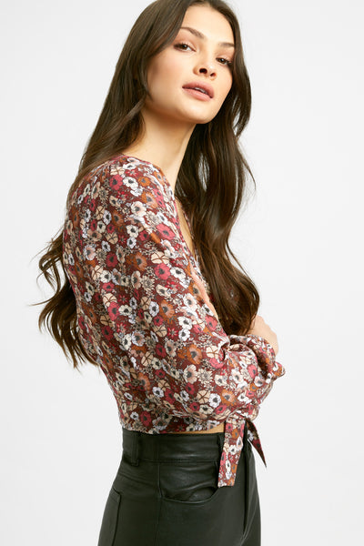 Saloni Wrap Top