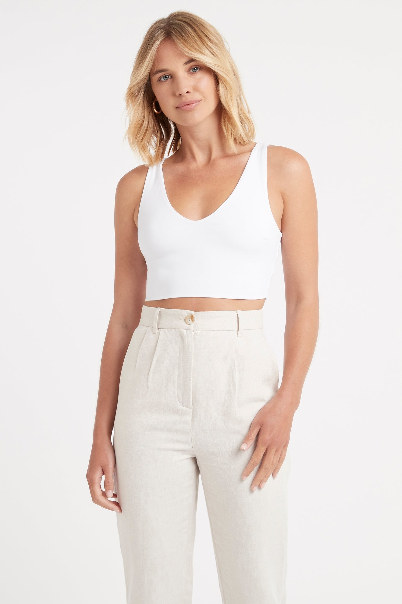 Julia Vee Crop Top
