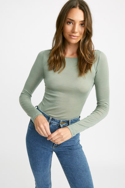 Soho Long Sleeve Boat Top