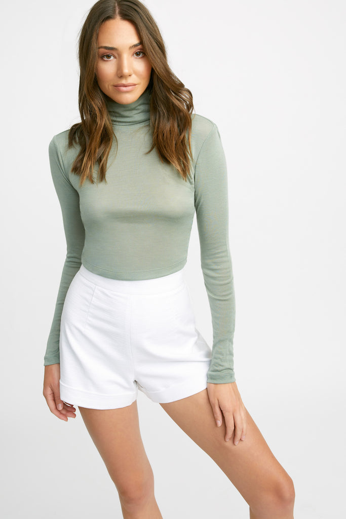 Polo Cropped Top