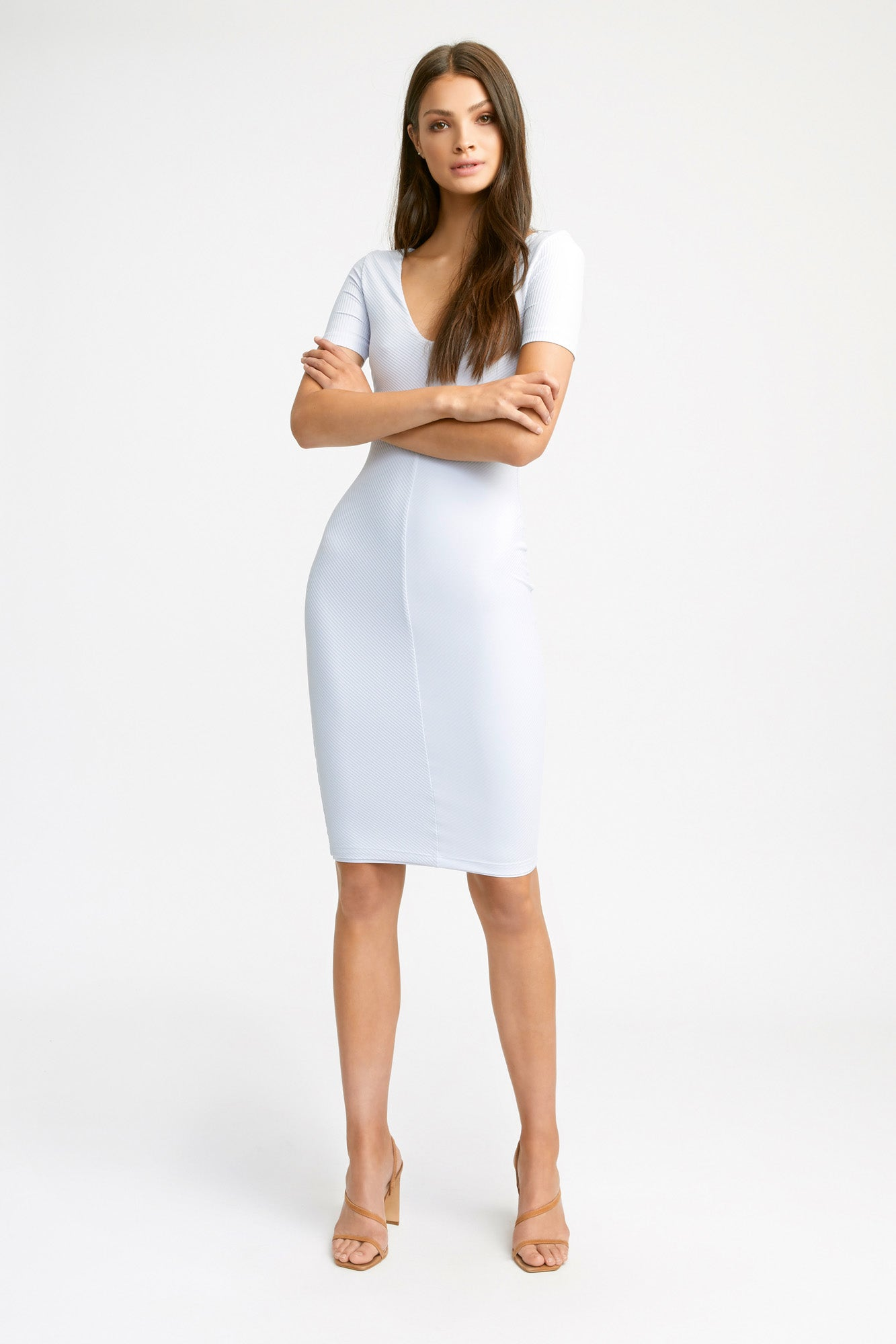 kookai solid searchable:knee length searchable:corporate  searchable:workwear  searchable:work dresses