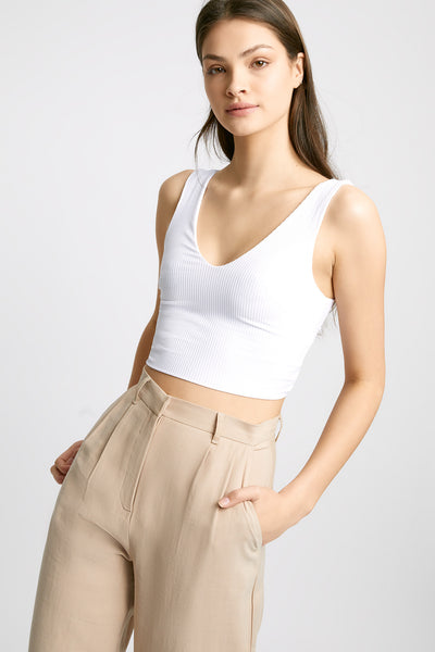 Hayley Twist Back Crop Top