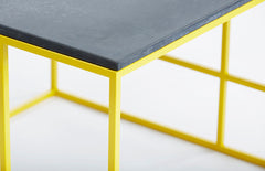 LA Coffee table - yellow frame