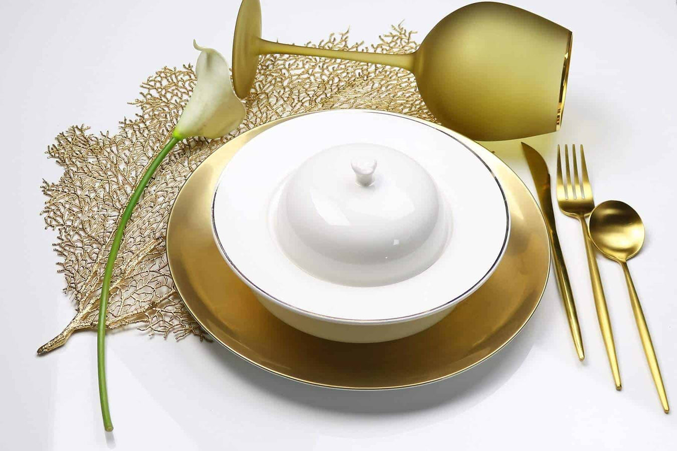 Covered Soup Bowl with Lid-Set of 2