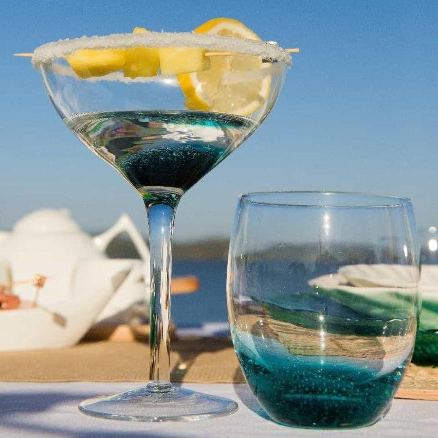Ocean Bubble Glasses-Set of 4