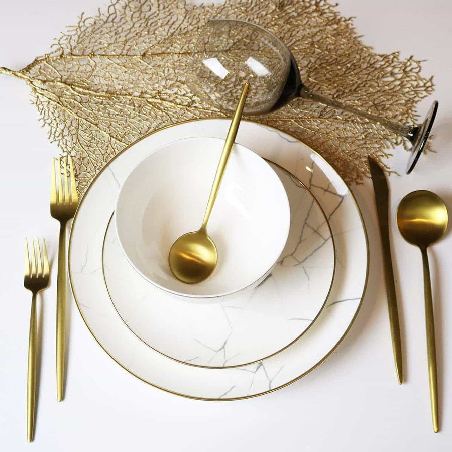 Metallic Leaf Placemat