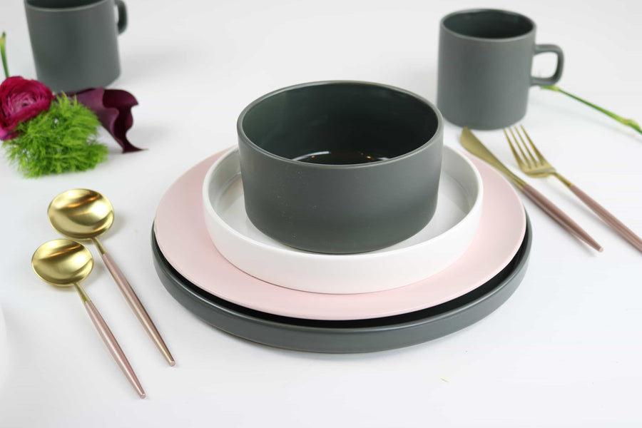 Oslo Stone Dinnerware Set