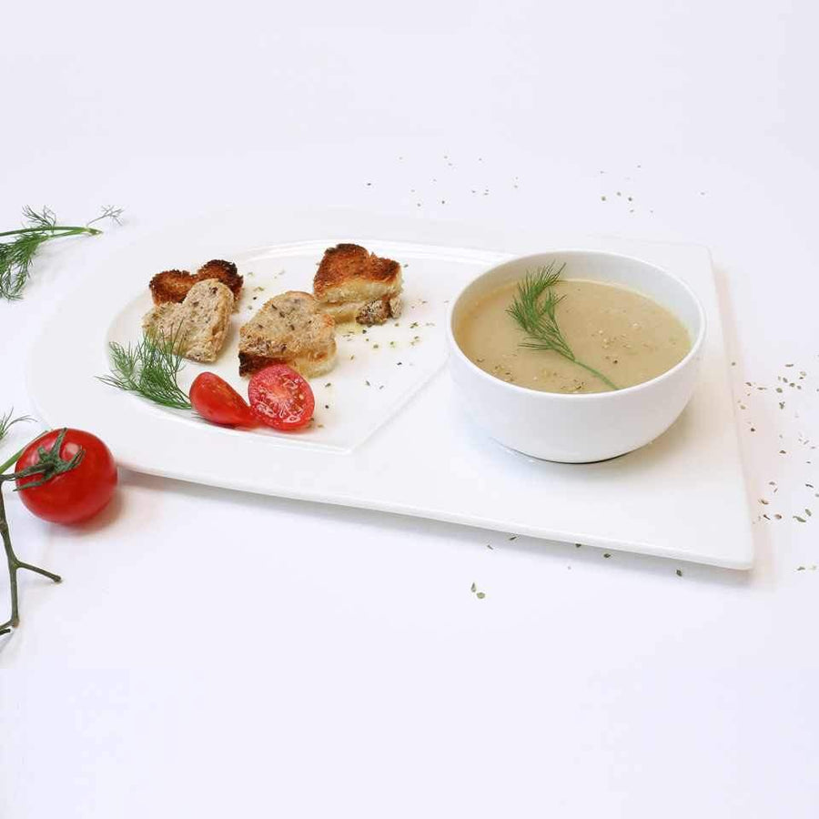 Soup and Sandwich Plate-Set of 4