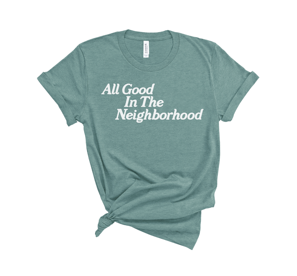 All Good Tee - Green