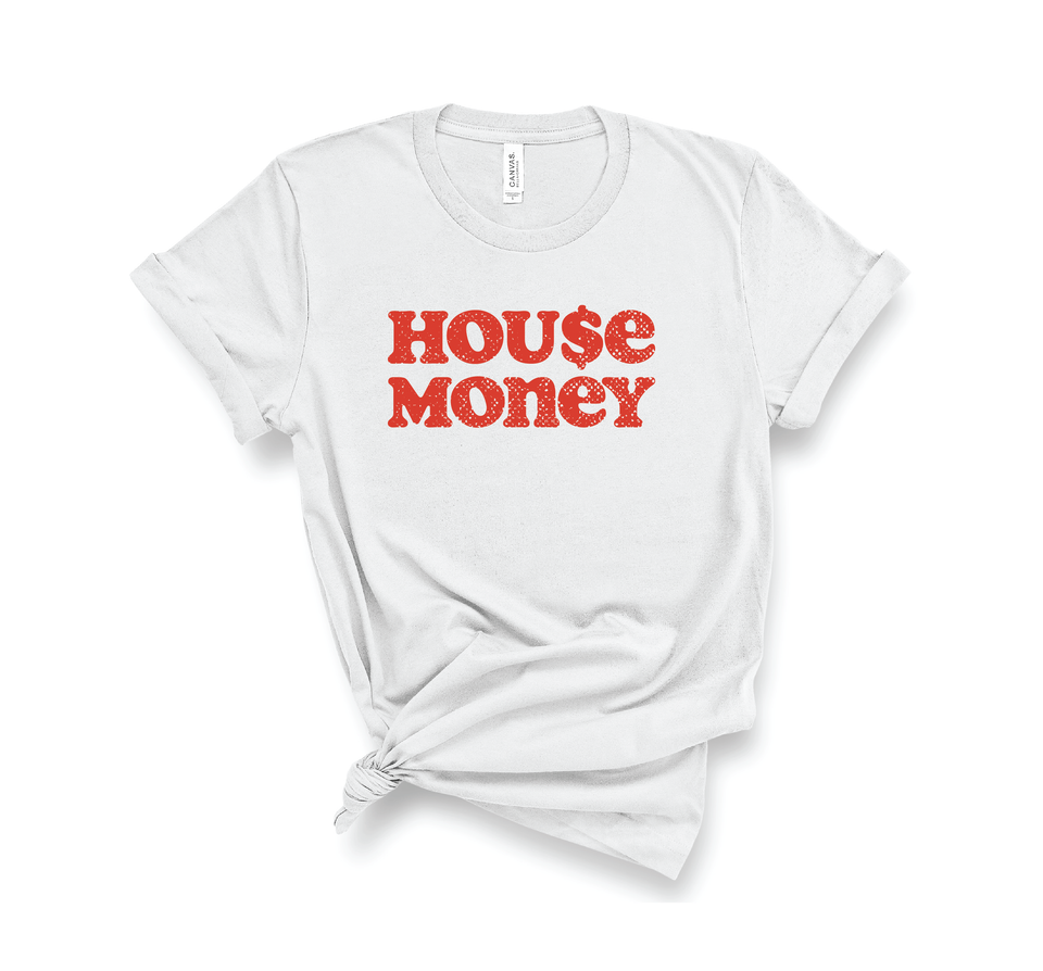 House Money Tee - White