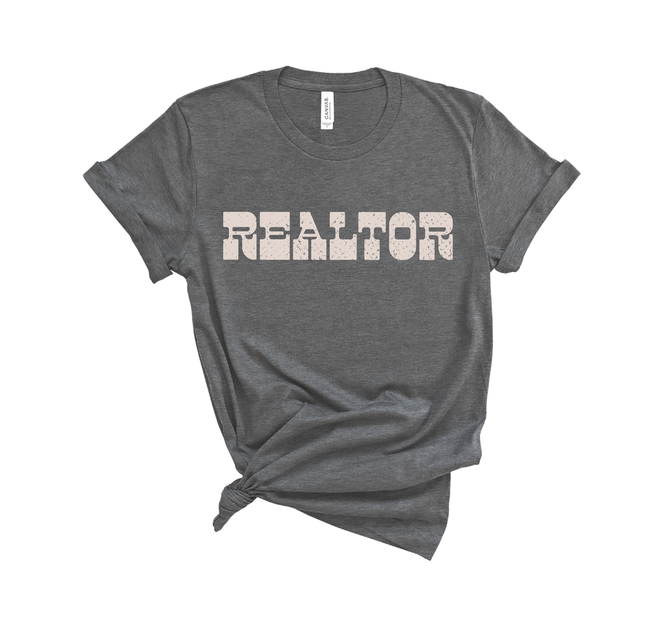 Realtor Tee - Dark Gray