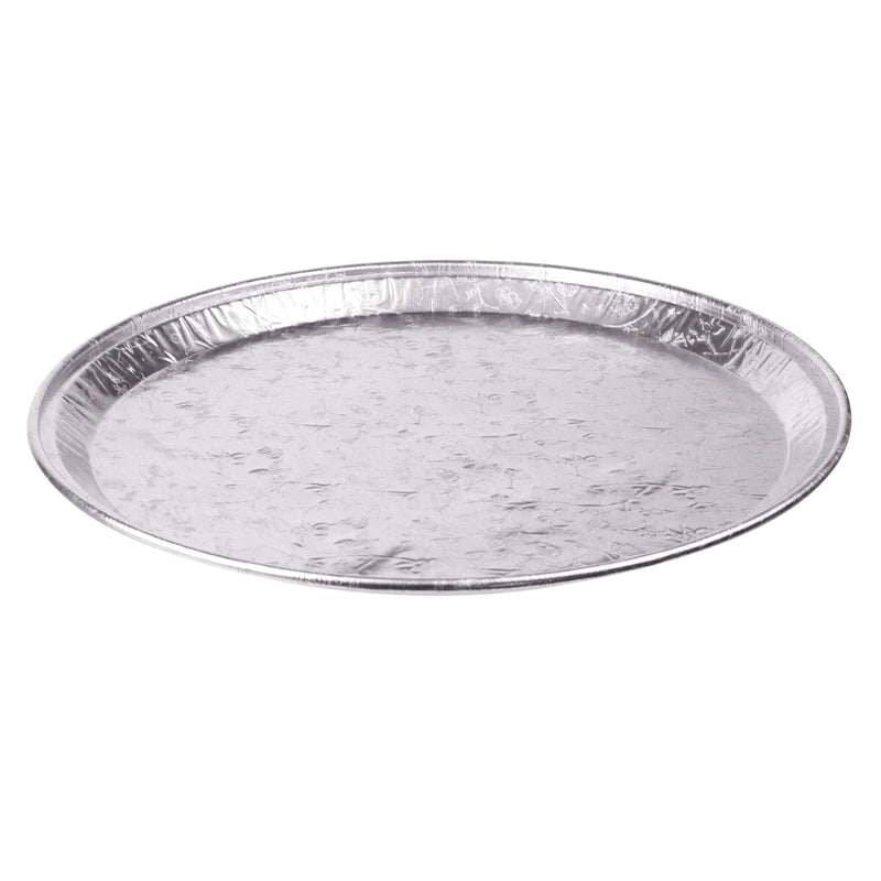 Handi-foil 16-in Round Aluminum Embossed Catering Trays;Pack of 25