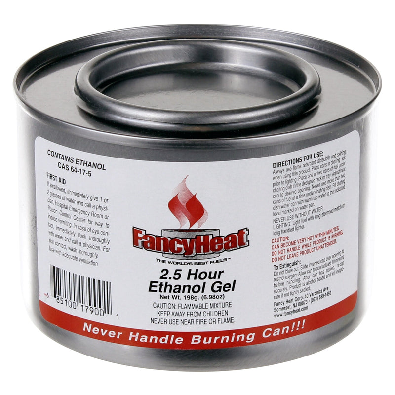 FancyHeat Red Ethanol Gel Chafing Fuel;Pack of 24