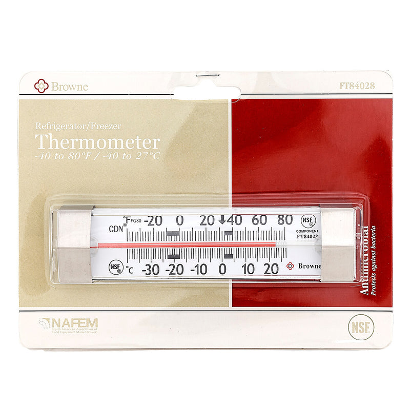 Browne Hanging Refrigerator and Freezer Thermometer