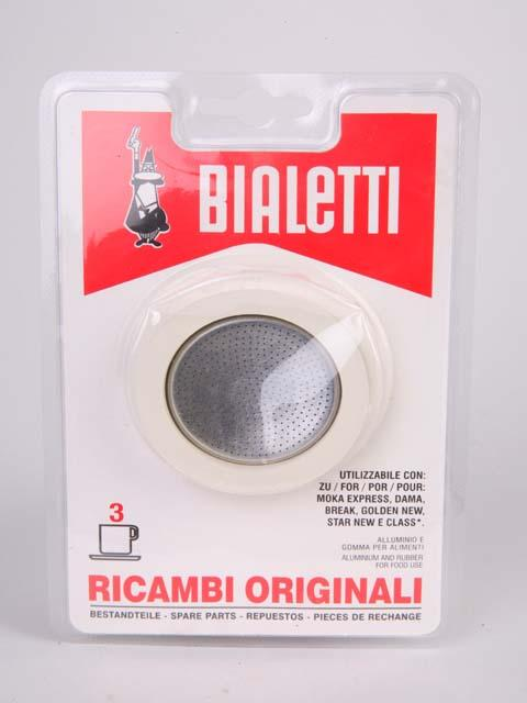 BIALETTI FILTER AND GASKET