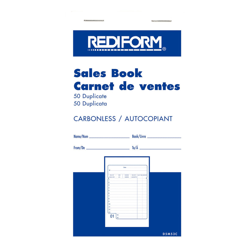 Rediform Sales Books;Pack of 16