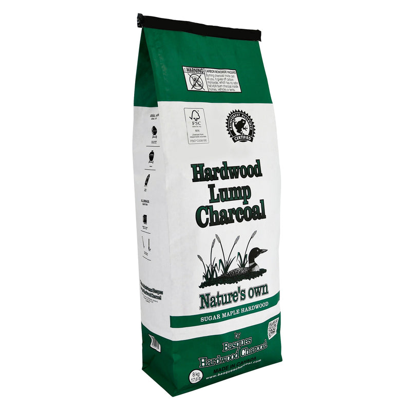 Nature's Own Natural Maple Hardwood Lump Charcoal;8 kg