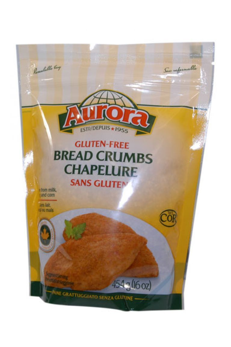 AURORA BREAD CRUMBS GLUTFREE 454G