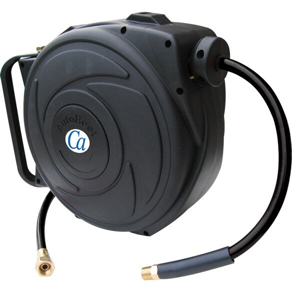Crisp-Air Retractable Hose Reel with 50 ft. PVC Air Hose