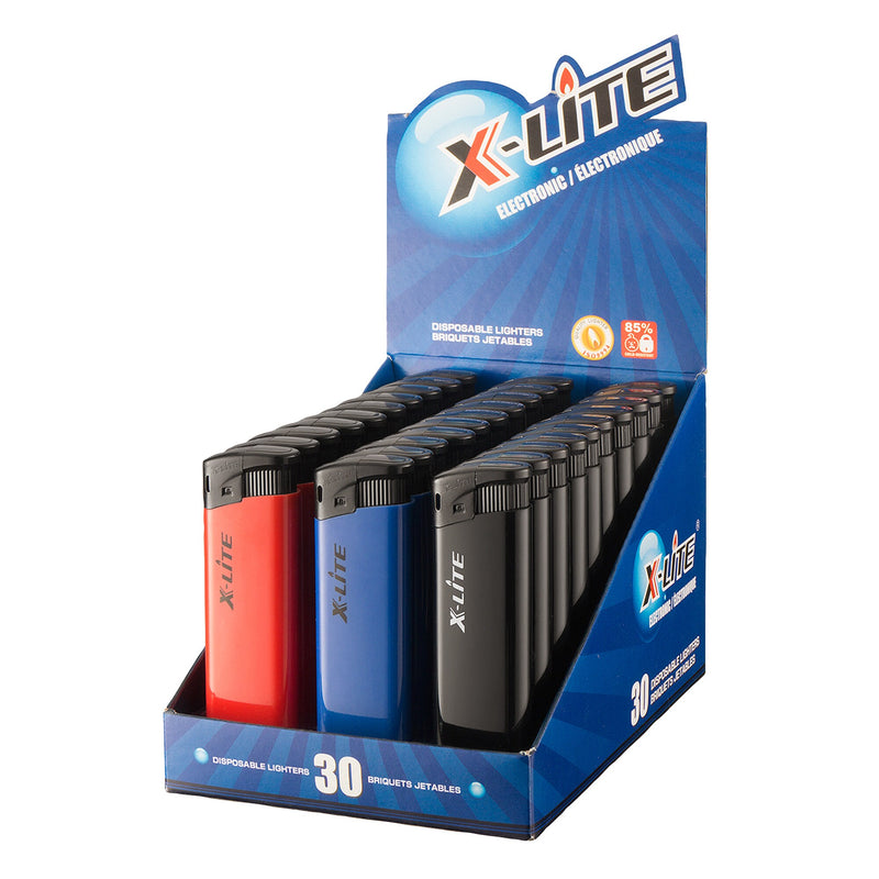X-Lite Disposable Lighters;Pack of 30