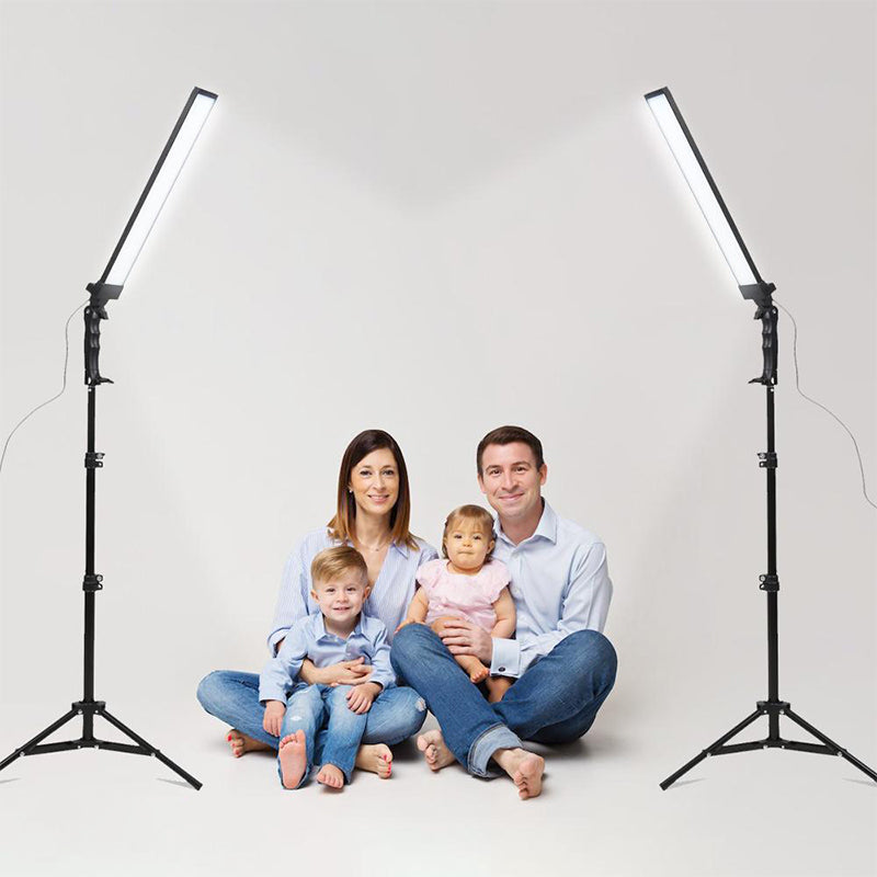 Ringlightus led light panels with stands 04