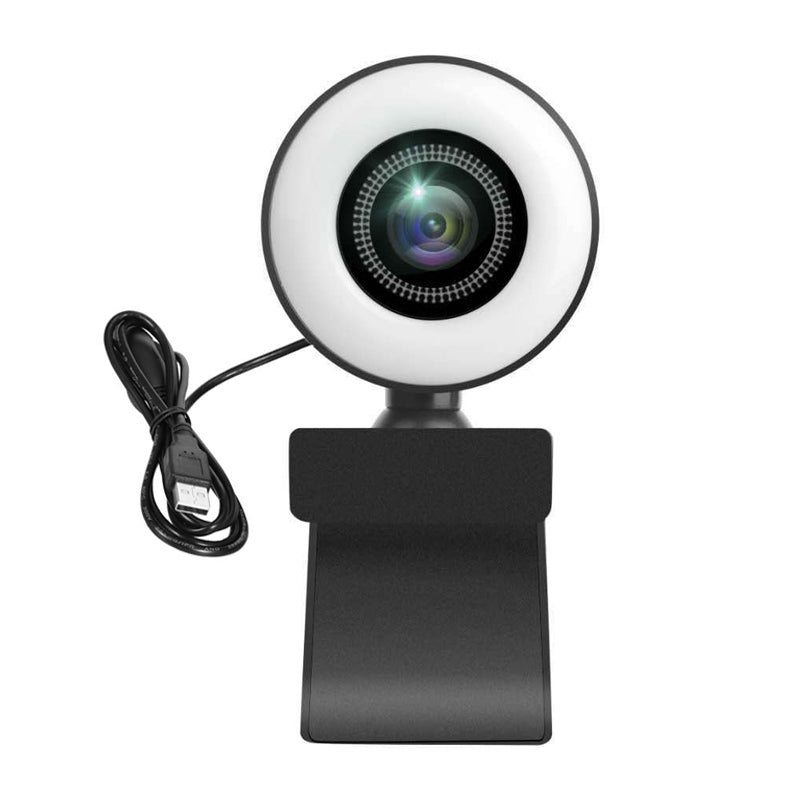 ringlightus 4k uhd autofocus webcam with ring light  for laptop 07