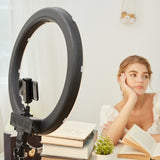 ringlightus 18 inch ring light for get good mood for live streaming