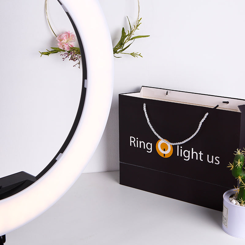 ringlightus 18 inch ring light for simple fashion packaging bag