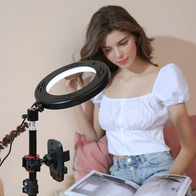 ringlightus 8 inch ring light for suitable for reading book at home
