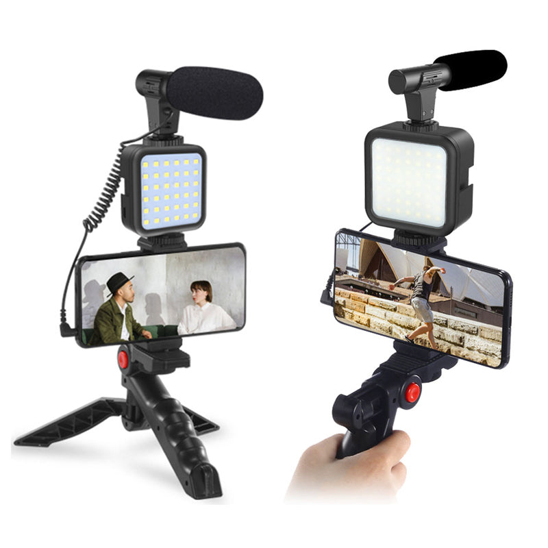 ringlightus led light with microphone kit for vlogging 04