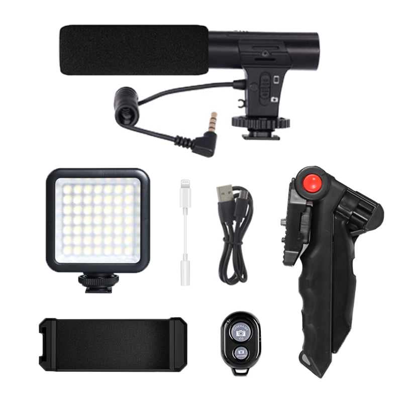 ringlightus led light with microphone kit for vlogging 07