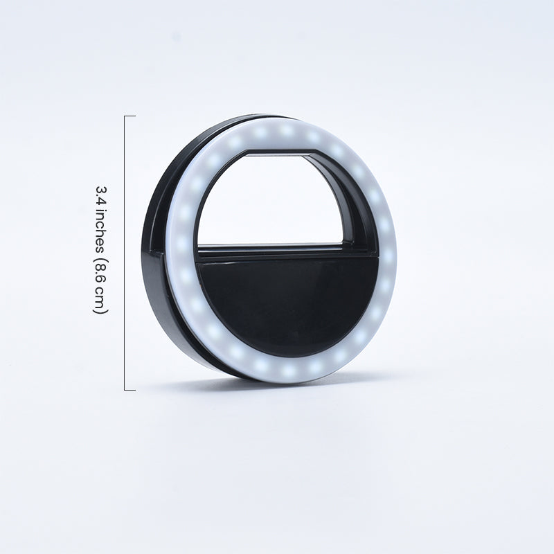 ringlightus phone selfie ring light for length of 3.4 inches
