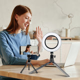 ringlightus portable ring light for desktop 01