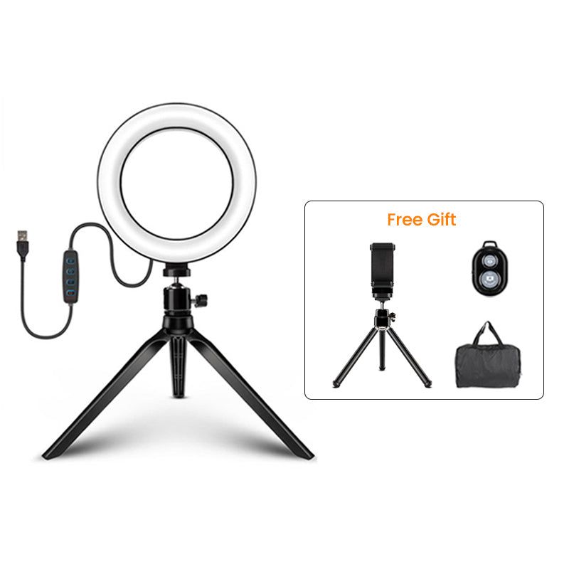 ringlightus portable ring light for desktop 07