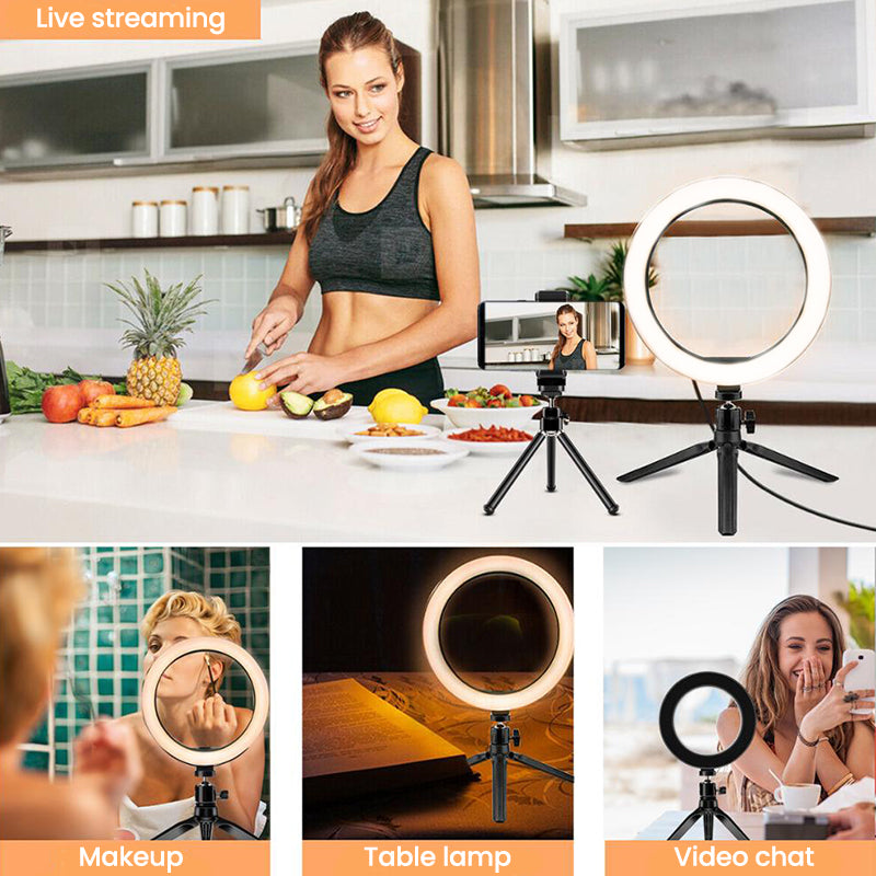 ringlightus portable ring light for desktop 02