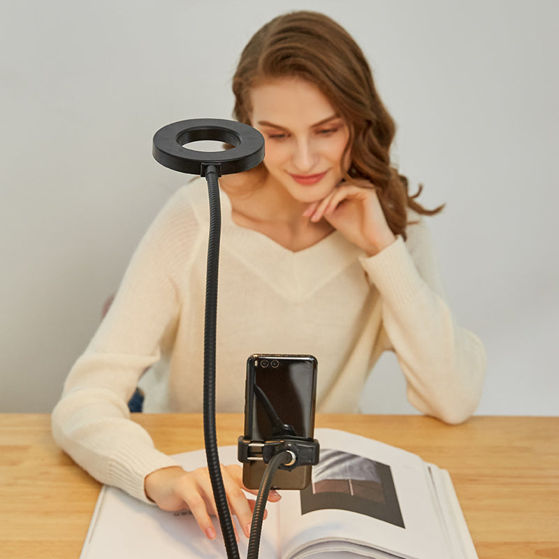 Ringlightus Flexible Ring Light with Phone Holder 04