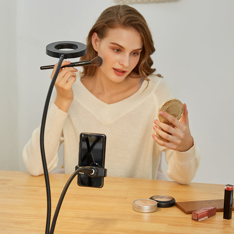 Ringlightus Flexible Ring Light with Phone Holder 03