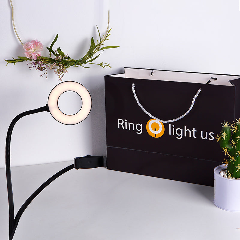 Ringlightus Flexible Ring Light with Phone Holder 06