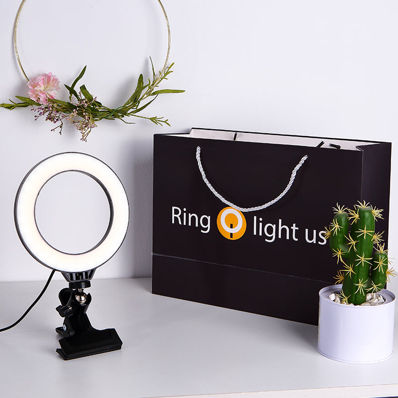 ringlightus ring light with clip fashion and simple package