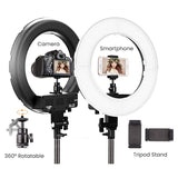 ringlightus 14 inch ring light compatible with most DSLR camera and smartphone