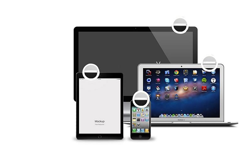 ringlightus phone selfie ring light with can clip most equipment, such as tablet pc, smartphone, laptop and desktop display