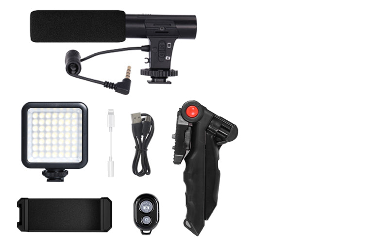 ringlightus led light with microphone kit for vlogging 12