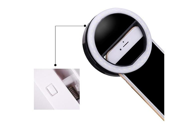 ringlightus phone selfie ring light with usb charging and no battery needed