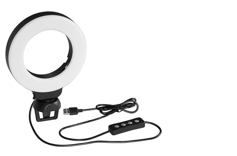 Ringlightus 4-inch Ring Light for Laptop and Webcam 12